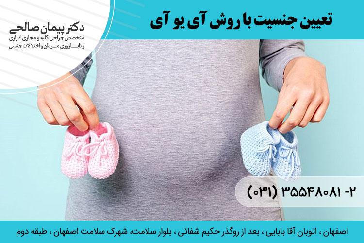 تعیین جنسیت جنین در اصفهان